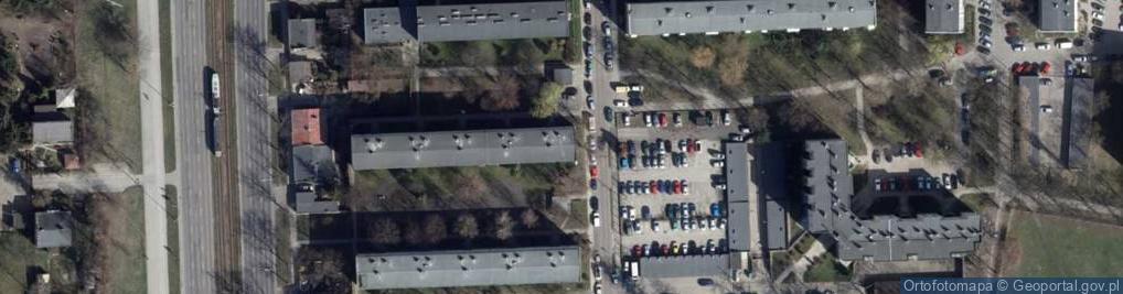 Zdjęcie satelitarne Rodakowskiego Henryka ul.