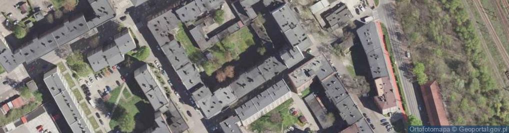 Zdjęcie satelitarne Robotnicza 8