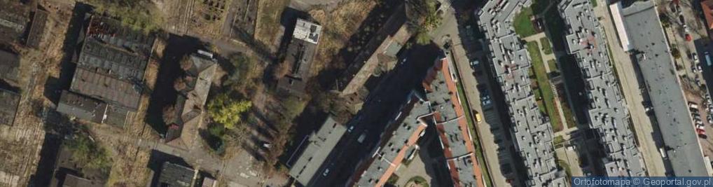Zdjęcie satelitarne Robocza ul.