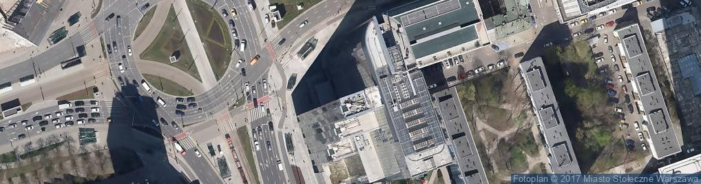 Zdjęcie satelitarne Rondo ONZ rondo.