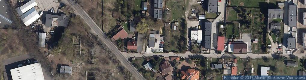 Zdjęcie satelitarne Rokokowa ul.