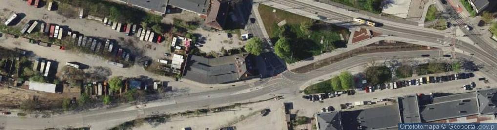 Zdjęcie satelitarne Robotnicza 1A