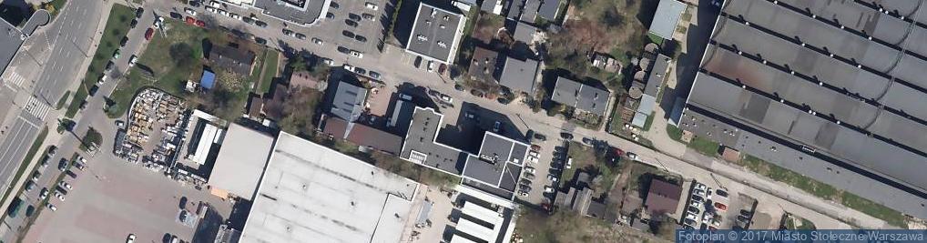 Zdjęcie satelitarne Ruchliwa ul.