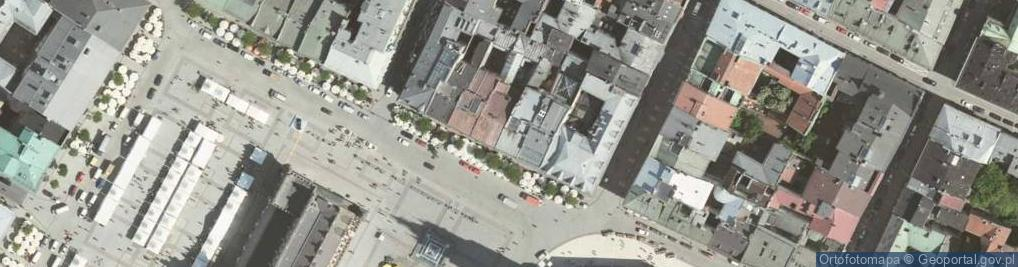 Zdjęcie satelitarne Rynek Główny ul.