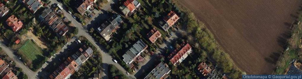 Zdjęcie satelitarne Rypińska ul.