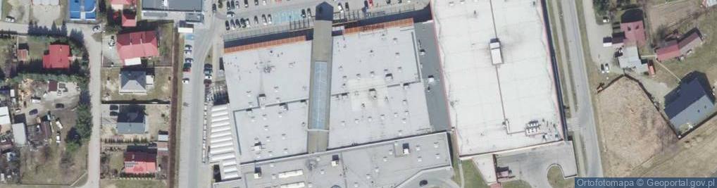 Zdjęcie satelitarne Rzeszowska 114