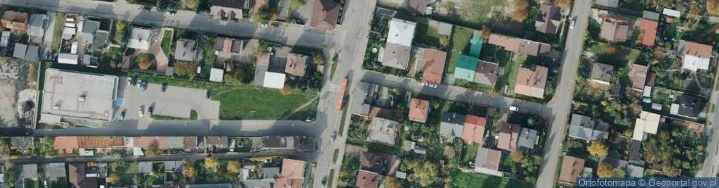 Zdjęcie satelitarne Sabinowska ul.