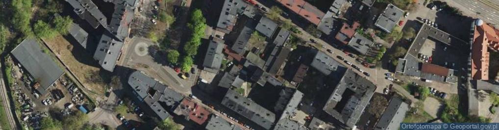 Zdjęcie satelitarne Sadowa ul.