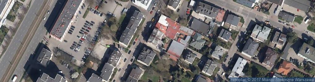 Zdjęcie satelitarne Sabały ul.
