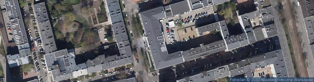 Zdjęcie satelitarne Sandomierska 12