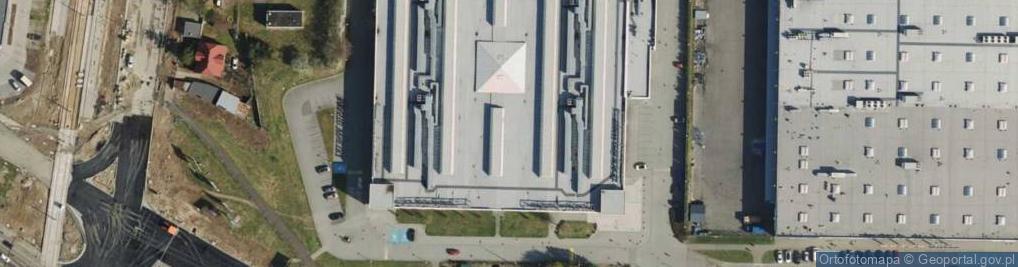Zdjęcie satelitarne Serbska ul.