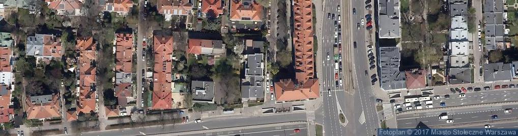 Zdjęcie satelitarne Sędziowska ul.