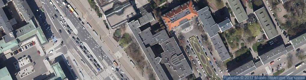 Zdjęcie satelitarne Senatorska ul.