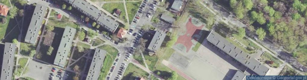 Zdjęcie satelitarne Sienkiewicza Henryka 1B