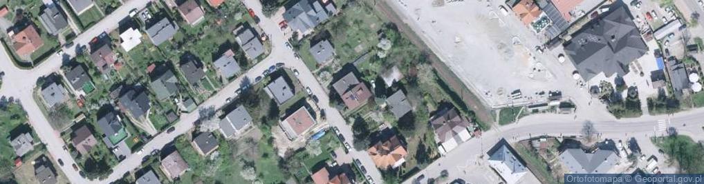 Zdjęcie satelitarne Sikorskiego Władysława, gen. 4