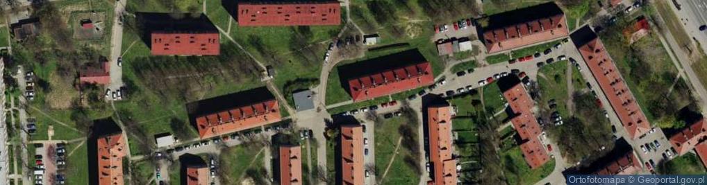 Zdjęcie satelitarne Skwer Osiedlowy 4C