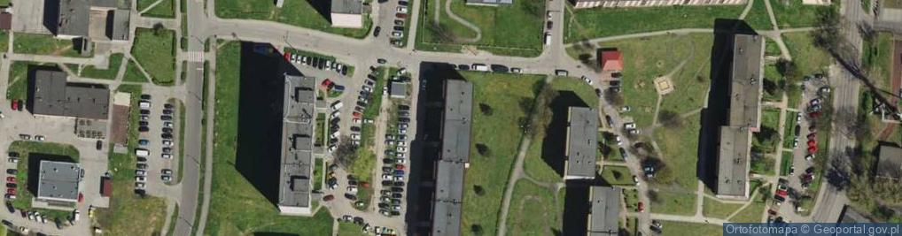 Zdjęcie satelitarne Skargi Piotra, ks. 53