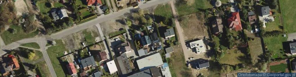 Zdjęcie satelitarne Skibowa ul.
