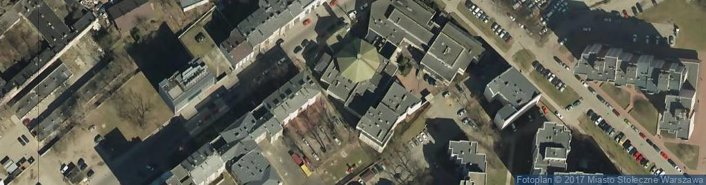 Zdjęcie satelitarne Skaryszewska ul.