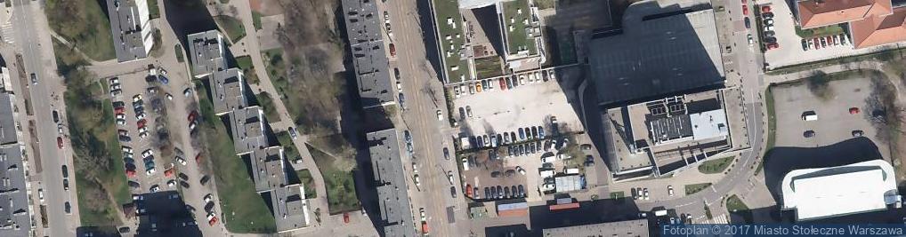 Zdjęcie satelitarne Skierniewicka 12