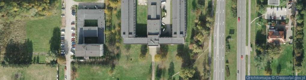 Zdjęcie satelitarne Skłodowskiej-Curie Marii 34