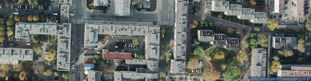 Zdjęcie satelitarne Śląska 2