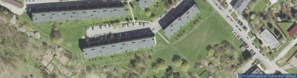Zdjęcie satelitarne Słoneczna 14