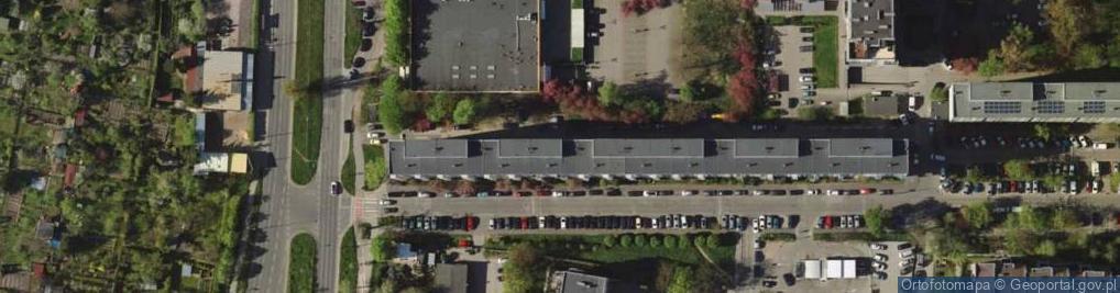 Zdjęcie satelitarne Śliczna ul.