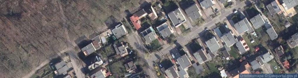 Zdjęcie satelitarne Sosnowa 44