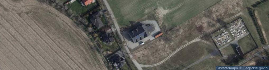 Zdjęcie satelitarne Sobótki ul.