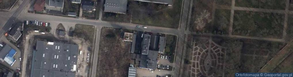 Zdjęcie satelitarne Sosnowa 4
