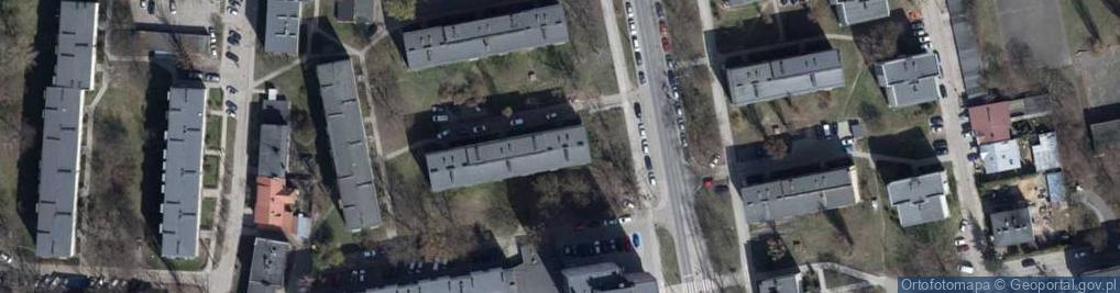 Zdjęcie satelitarne Sporna 74