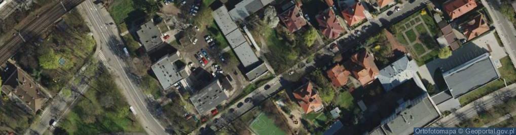 Zdjęcie satelitarne Sporna ul.