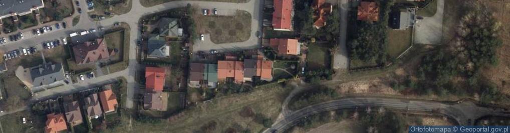 Zdjęcie satelitarne Srebrna 39