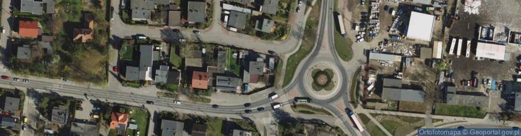 Zdjęcie satelitarne Średzka 16