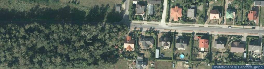 Zdjęcie satelitarne Strzelecka ul.