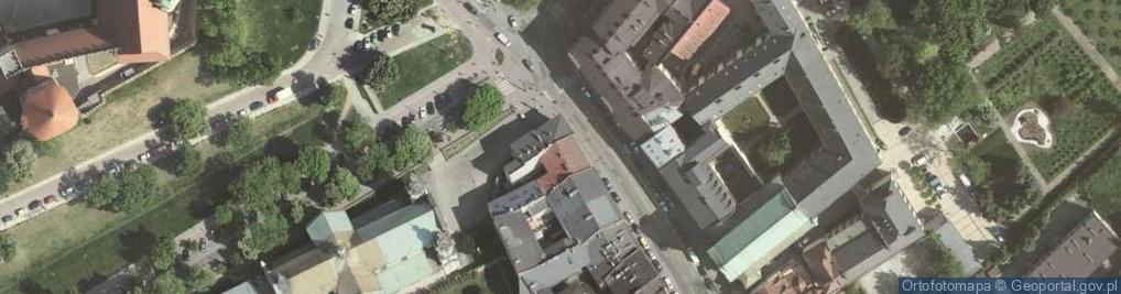 Zdjęcie satelitarne Stradomska 1