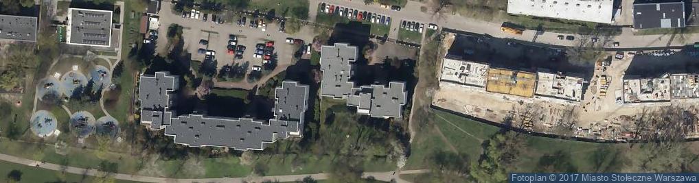 Zdjęcie satelitarne Stanisława Augusta 73
