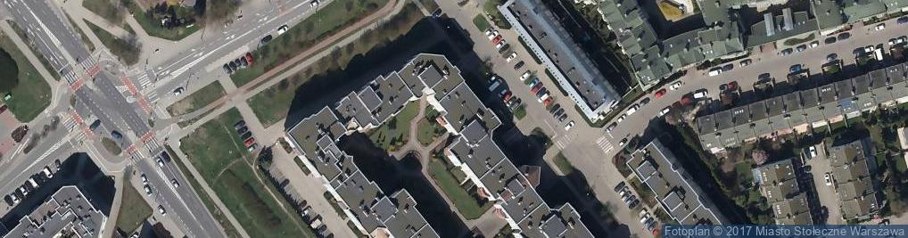 Zdjęcie satelitarne Stryjeńskich ul.