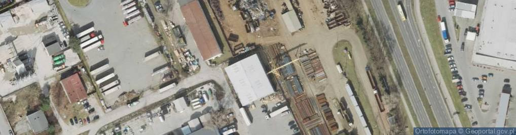 Zdjęcie satelitarne Stefana Batorego 126a