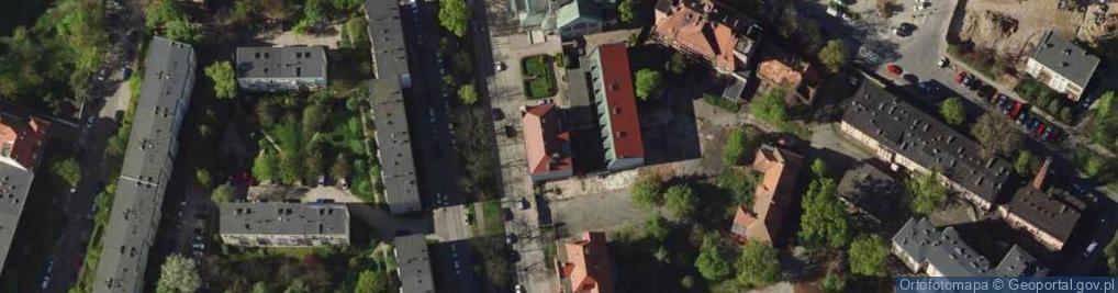 Zdjęcie satelitarne Sudecka 90