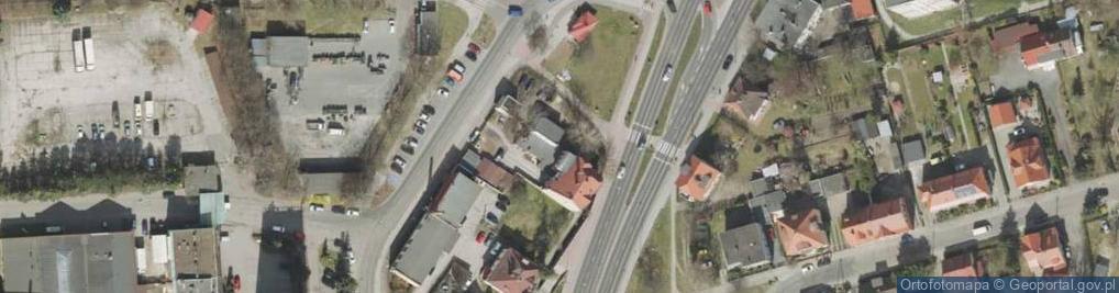Zdjęcie satelitarne Sulechowska 14