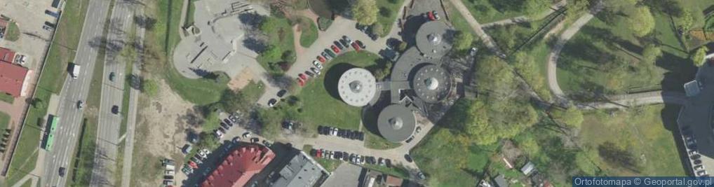 Zdjęcie satelitarne św. Rocha 14