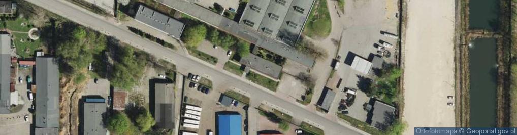 Zdjęcie satelitarne św. Elżbiety ul.