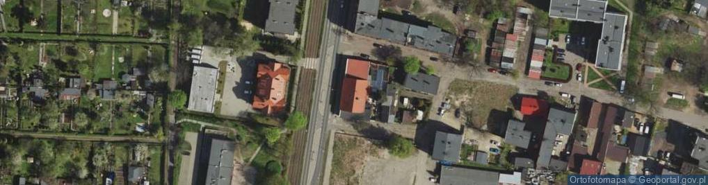 Zdjęcie satelitarne Świętochłowicka 6