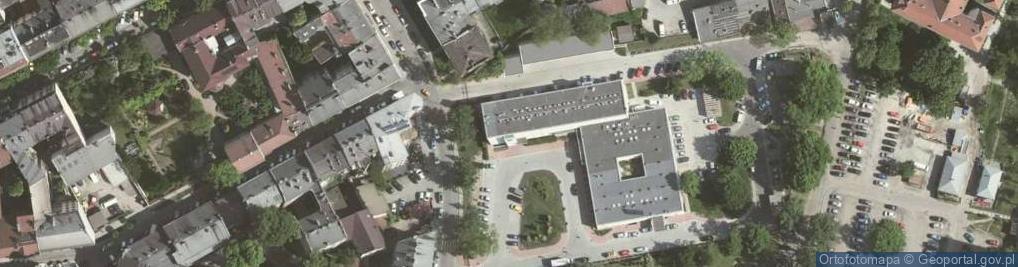Zdjęcie satelitarne św. Łazarza ul.