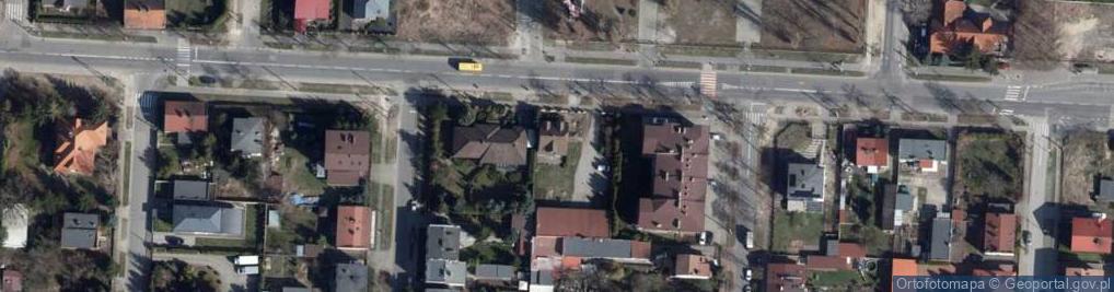 Zdjęcie satelitarne św. Franciszka z Asyżu ul.