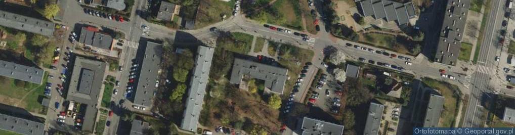 Zdjęcie satelitarne Świt ul.
