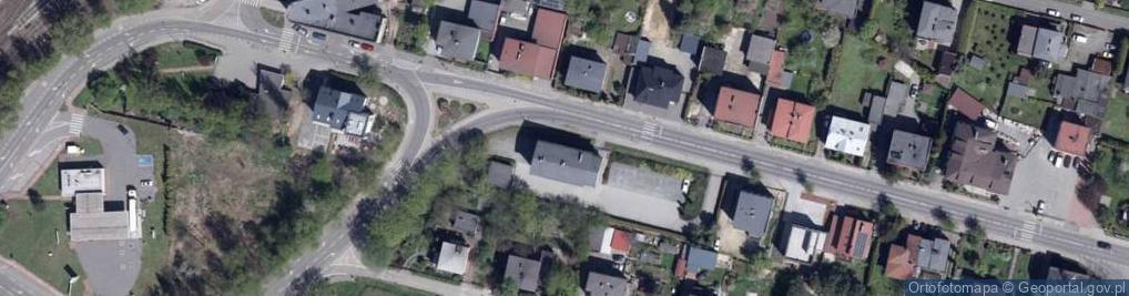 Zdjęcie satelitarne Świerklańska 10