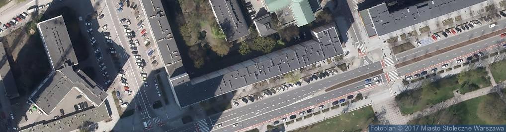 Zdjęcie satelitarne Świętokrzyska ul.